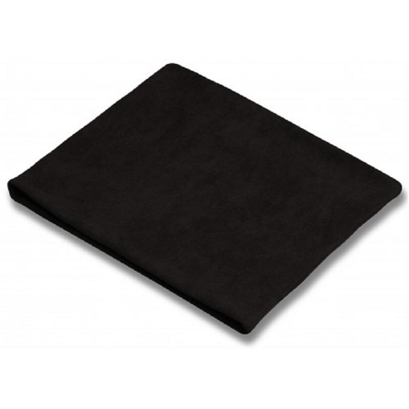 Пояс для разогрева INDIGO SM-152 флисовый черный