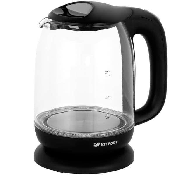Чайник KitFort КТ-625-5 серый