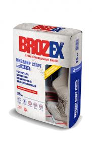 Ровнитель для пола Brozex NF-410 Нивелир СТАРТ высокопрочный 25кг