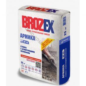Стяжка для пола BROZEX Армика 25кг с армирующими волокнами