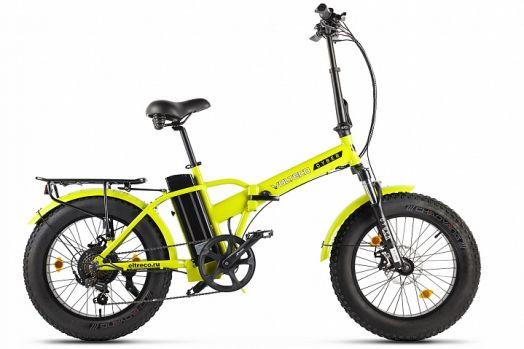 Велогибрид VOLTECO CYBER Желтый