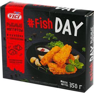 Рыбные наггетсы 350 гр Fish day Vici