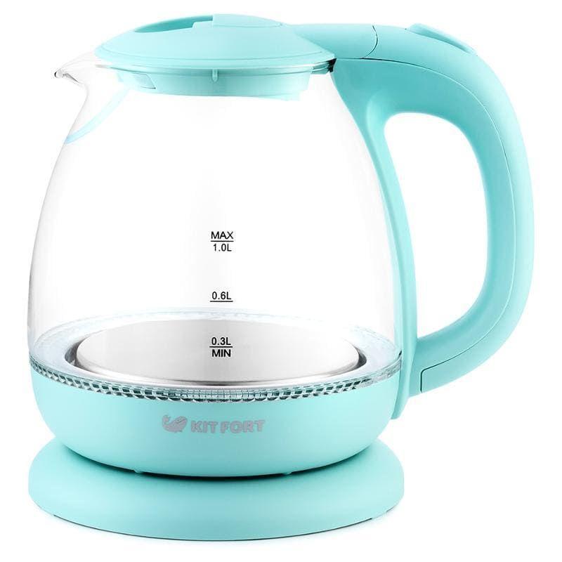 Чайник KitFort КТ-653-1 (голубой)