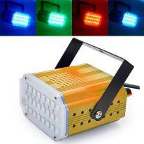 Комнатный мини-стробоскоп Mini Room Strobe 24 LED, жёлтый