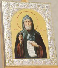 Икона Иов Почаевский преподобный (14х18см)