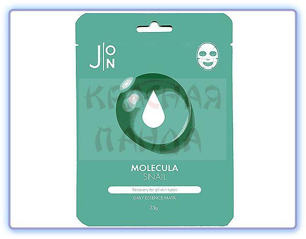 Маска для лица с улиточным муцином J:ON Molecula Snail Daily Essence Mask