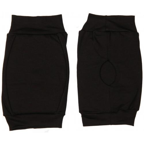 Наколенники для гимнастики и танцев INDIGO SM-113 хлопок черные