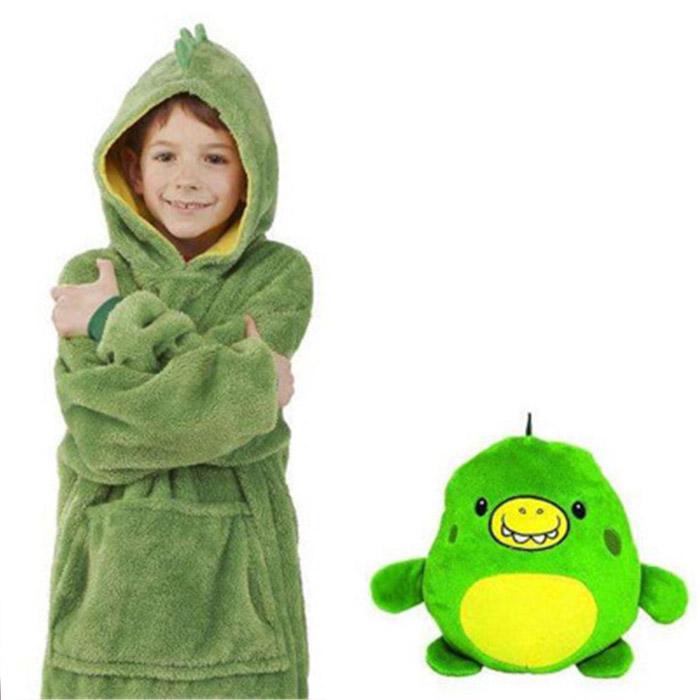 Трансформер игрушка-толстовка, Динозаврик