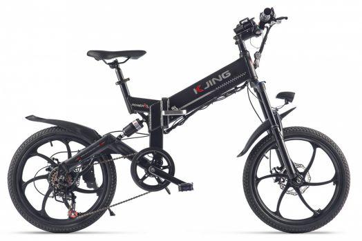 Велогибрид Kjing Power Sport Черный