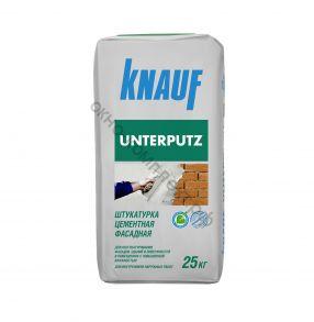 Штукатурка цементная фасадная Унтерпутц 25кг KNAUF