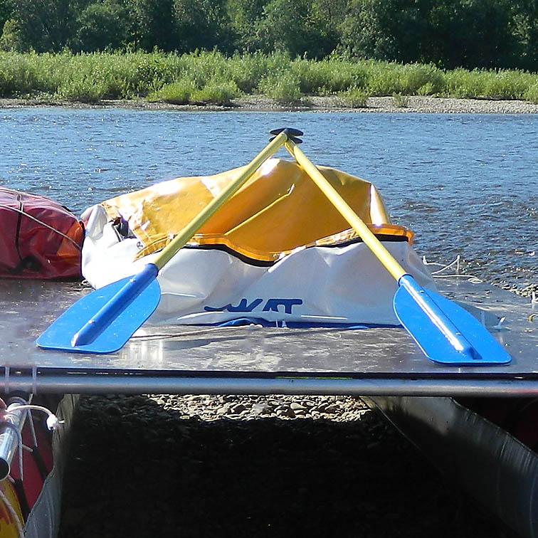 Палуба для катамарана на молнии 950 литров (ПВХ)