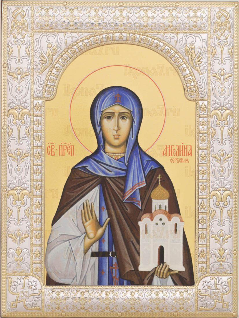 Икона Ангелина Сербская блаженная (18х24см)