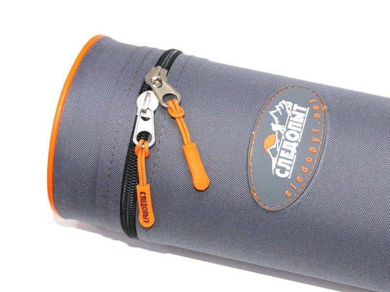 Тубус для удилищ  d-110 мм, цв. серый