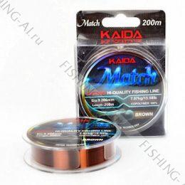 "Леска Kaida ""Match"" Sinking 200 м 0.261 мм"