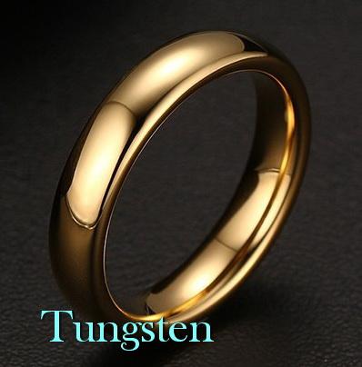 Кольцо из вольфрама 4 мм
