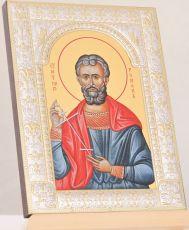 Икона Роман Кесарийский святой (18х24см)