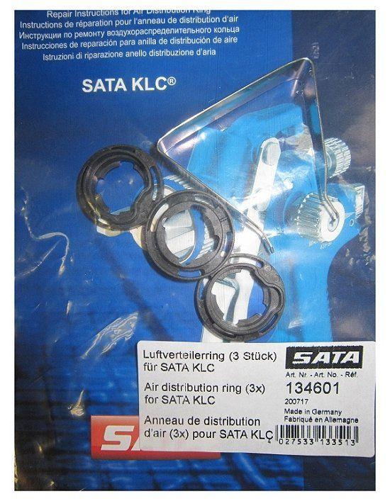 SATA 134601 Набор колец (3шт.) системы распределения воздуха для SATA KLC