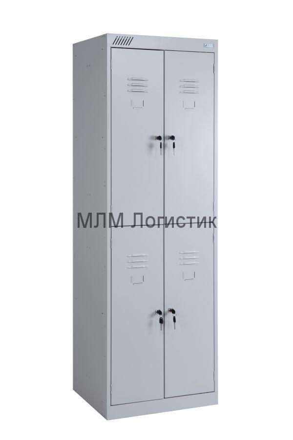 Металлические шкафы для одежды серии ШРК-24