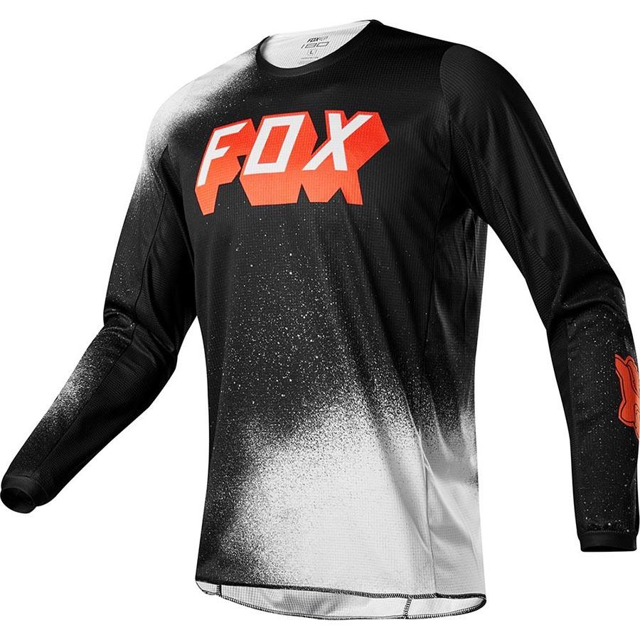 Fox 180 BNKZ Special Edition Youth Black джерси для мотокросса подростковое, черное