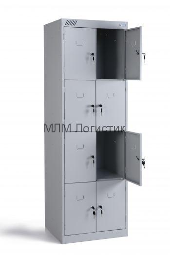 Металлические шкафы для одежды серии ШРК-28