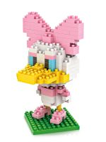 Конструктор Wisehawk & LNO Дейзи Дак 200 деталей NO. 014 Daisy Duck Gift Series