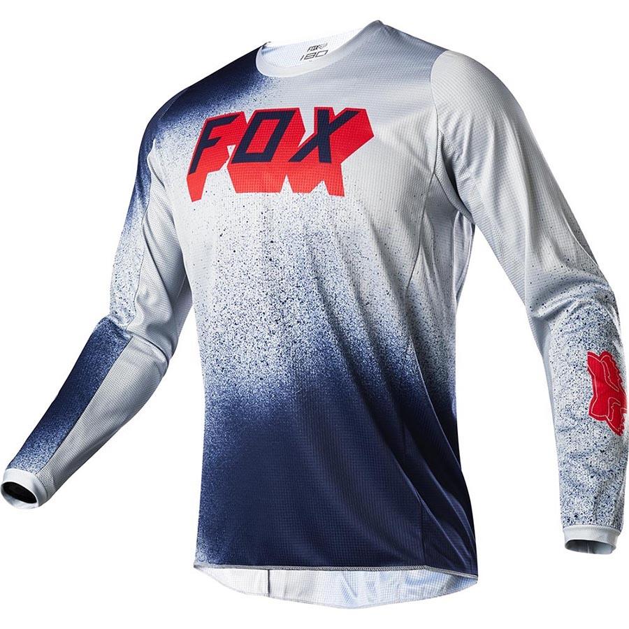 Fox 180 BNKZ Special Edition Grey джерси для мотокросса, серое