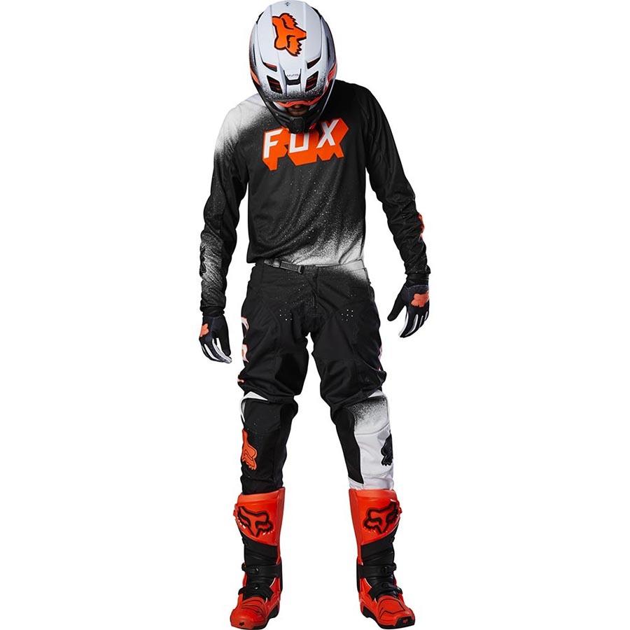 Fox 180 BNKZ Special Edition Black джерси и штаны для мотокросса, черные