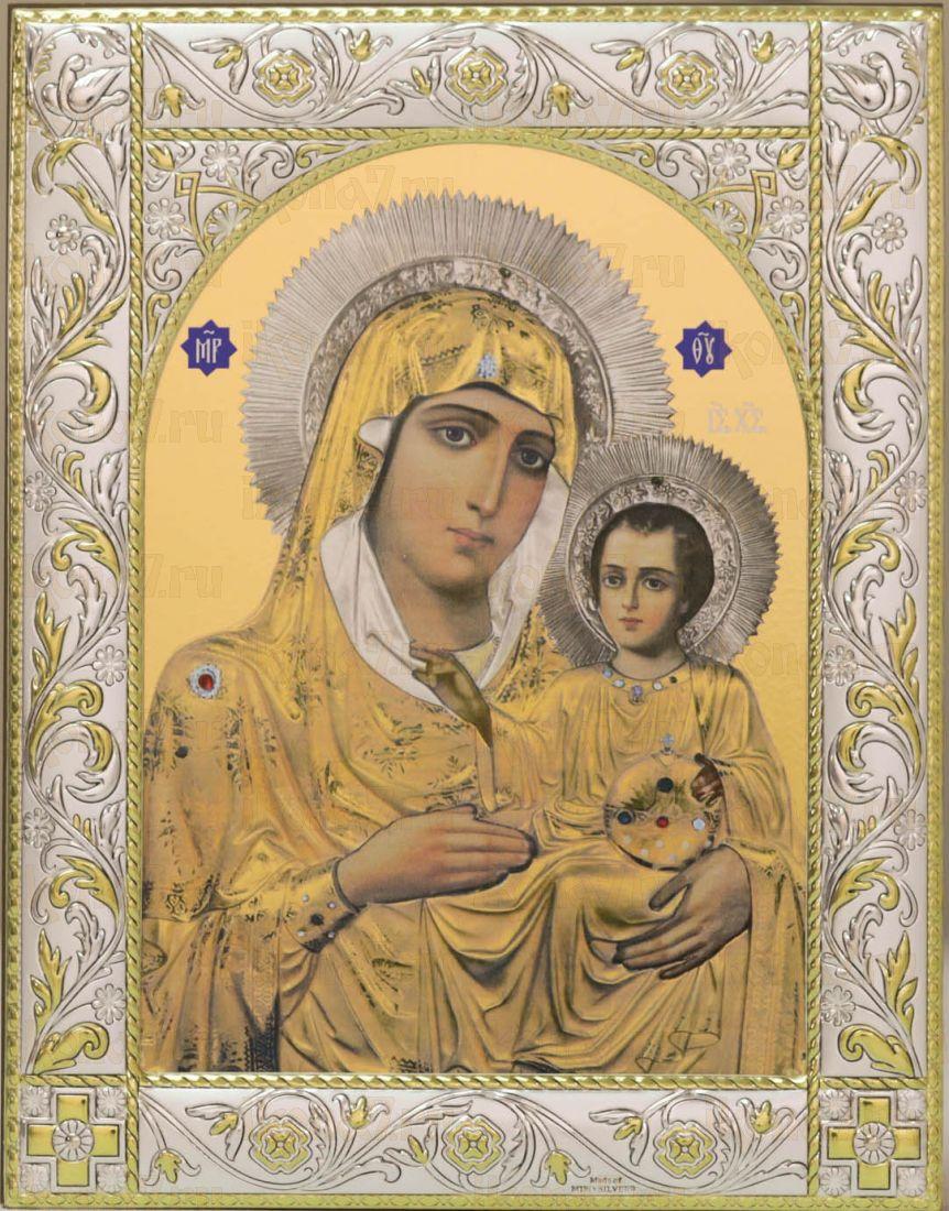Икона Иерусалимская икона Божией Матери (14х18см)