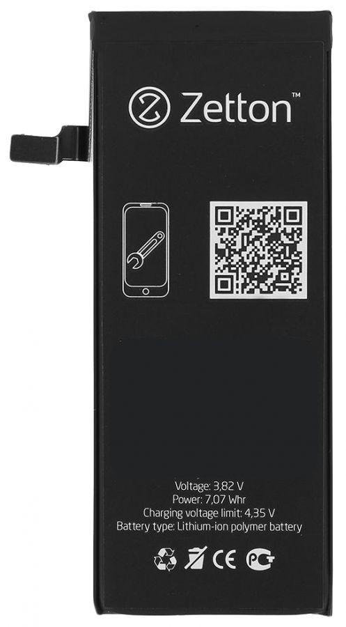 Аккумулятор Zetton Apple iPhone 6 Plus (3000 mAh)
