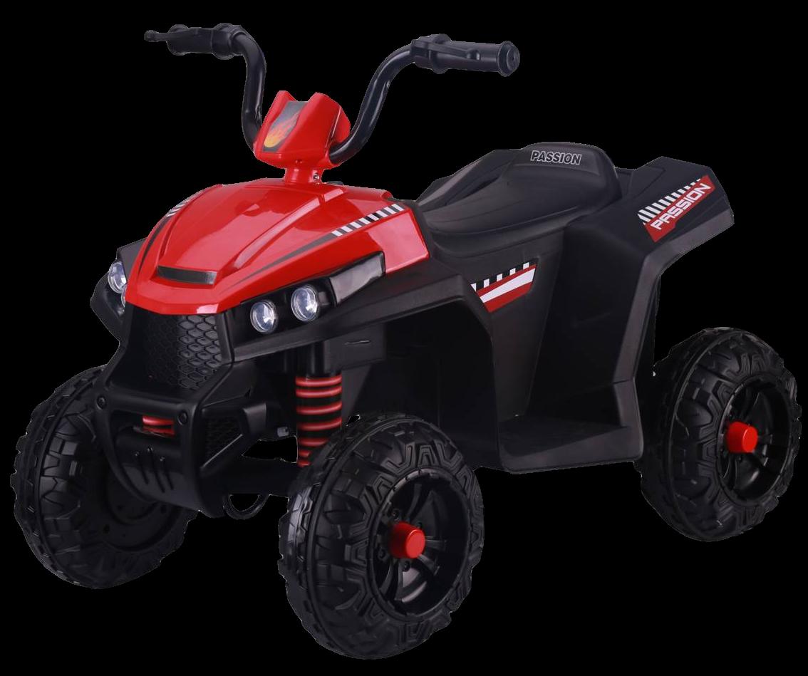 Детский электромобиль (2020) S601 12V, колесо пластик) Красный