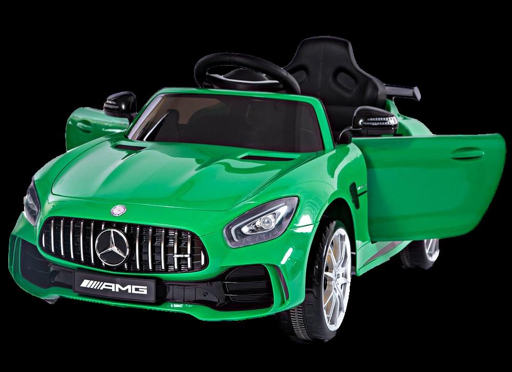 Детский электромобиль (2020) BBH-0006 GTR (12V, колесо EVA, экокожа) Зелёный