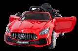 Детский электромобиль (2020) BBH-0006 GTR (12V, колесо EVA, экокожа) Красный