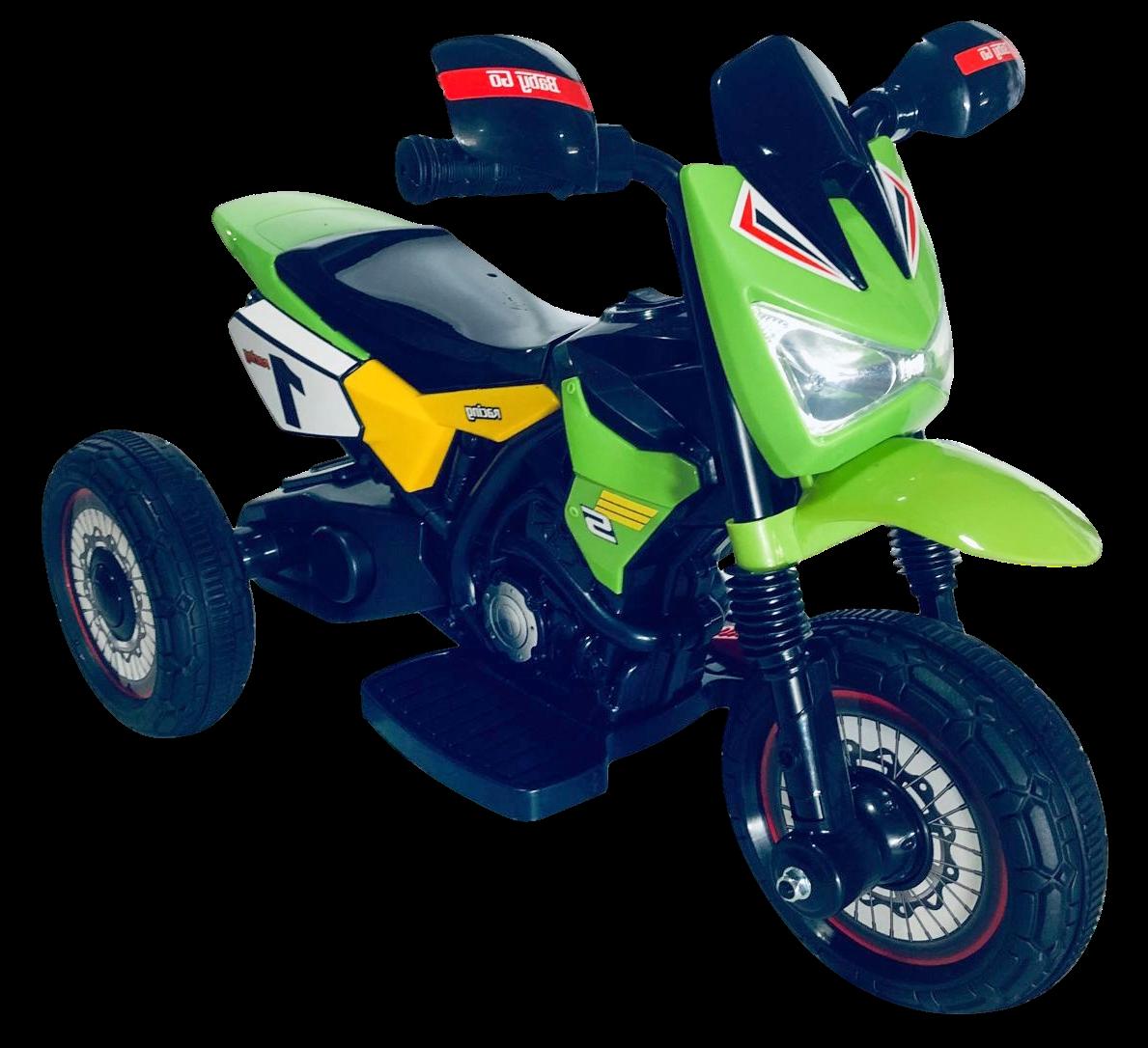 Детский электромобиль (2020) GTM2288-A (6V, колесо пластик) Зелёный