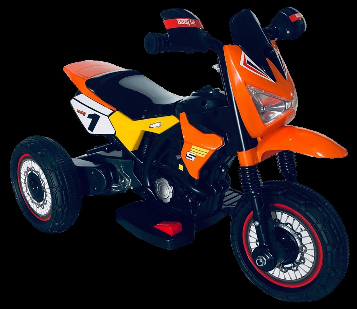 Детский электромобиль (2020) GTM2288-A (6V, колесо пластик) Оранжевый