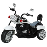Детский электромобиль (2020) TR1501 (6V, колесо пластик) Белый