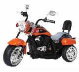 Детский электромобиль (2020) TR1501 (6V, колесо пластик) Оранжевый