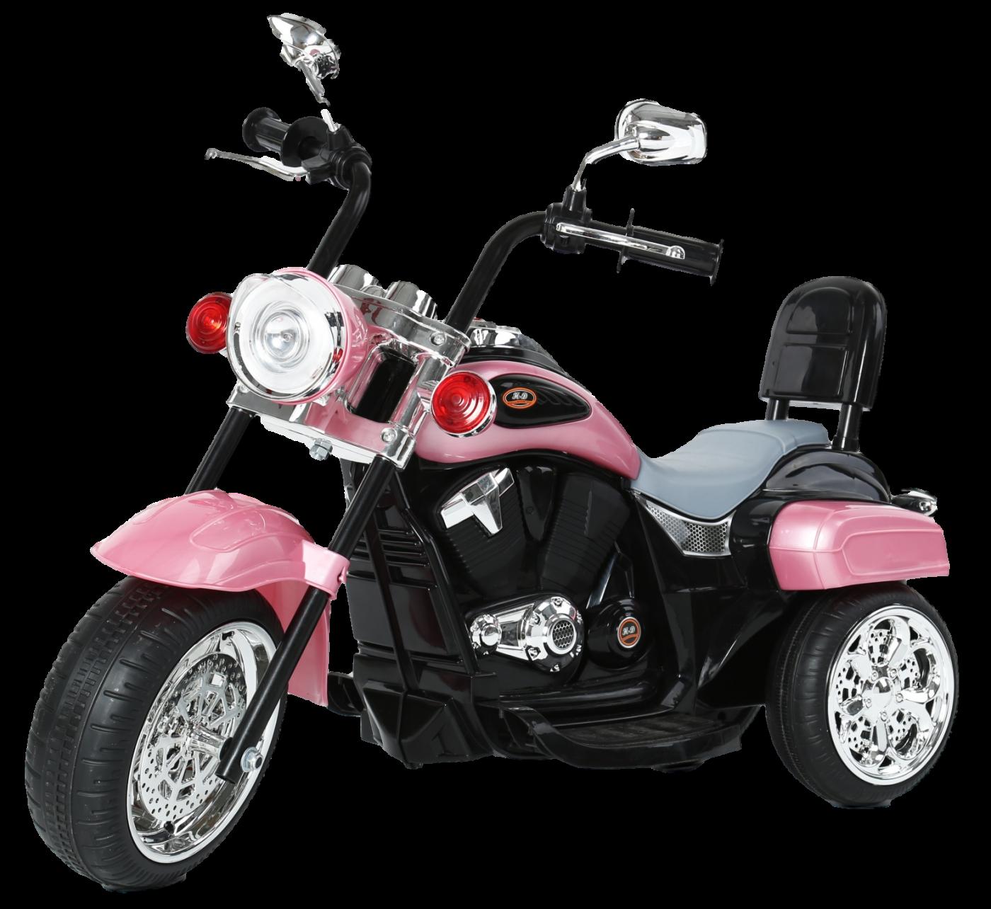Детский электромобиль (2020) TR1501 (6V, колесо пластик) Розовый