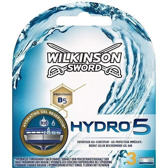 Schick / Wilkinson Sword Hydro5 сменные кассеты (3 штуки)
