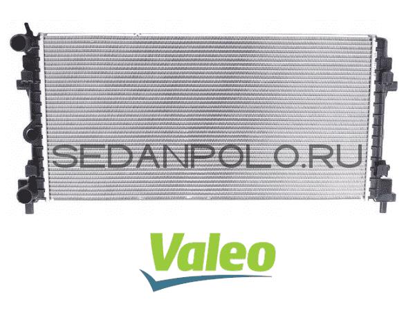 Радиатор основной Valeo Volkswagen Polo Sedan / Skoda Rapid