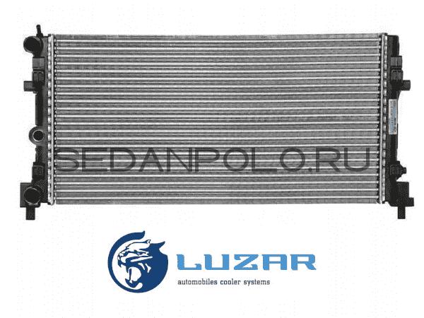 Радиатор системы охлаждения LUZAR Volkswagen Polo Sedan/Rapid