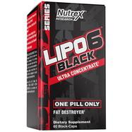 Lipo-6 Black Ultra Ultra Concentrate 60 caps. Nutrex