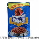 """Корм CHAPPI """"Мясное изобилие"""" пауч 0,1 кг 1x24 шт Марс, шт"""