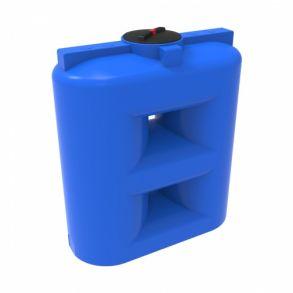 Емкость S 1500 с крышкой с дыхательным клапаном синий