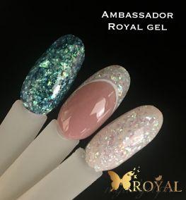Ambassador Royal моделирующий гель с хлопьями хамелеон 50 гр
