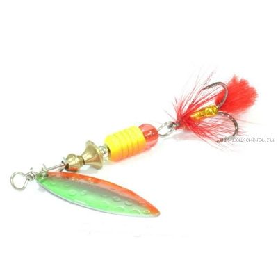 Блесна вращающаяся Sprut Oruto Spinner #1 / 4,5 гр / цвет: SOB