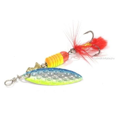 Блесна вращающаяся Sprut Oruto Spinner #1 / 4,5 гр / цвет: STB