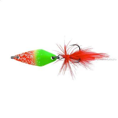 Блесна колеблющаяся Sprut Mihiko Micro Spoon 30мм / 4 гр / цвет: RGR