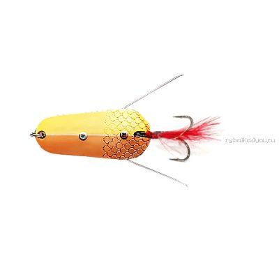 Блесна колеблющаяся Sprut Togiru Spoon 70мм / 30 гр / цвет: GC