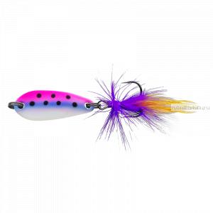Блесна колеблющаяся Sprut Yasuri Micro Spoon 30мм / 3,4 гр / цвет: BPNW