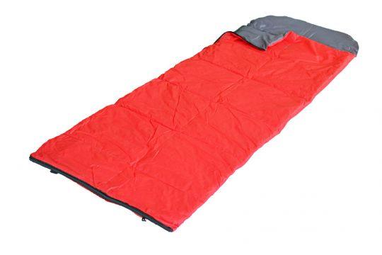 Спальный мешок Woodland Camping 200 до +5 красный